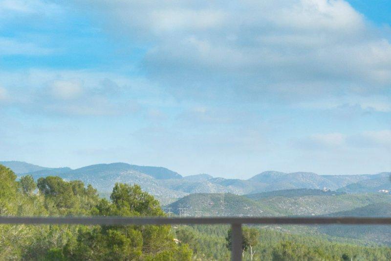 Vistas muy bonitas de Villa Sitges Arhat