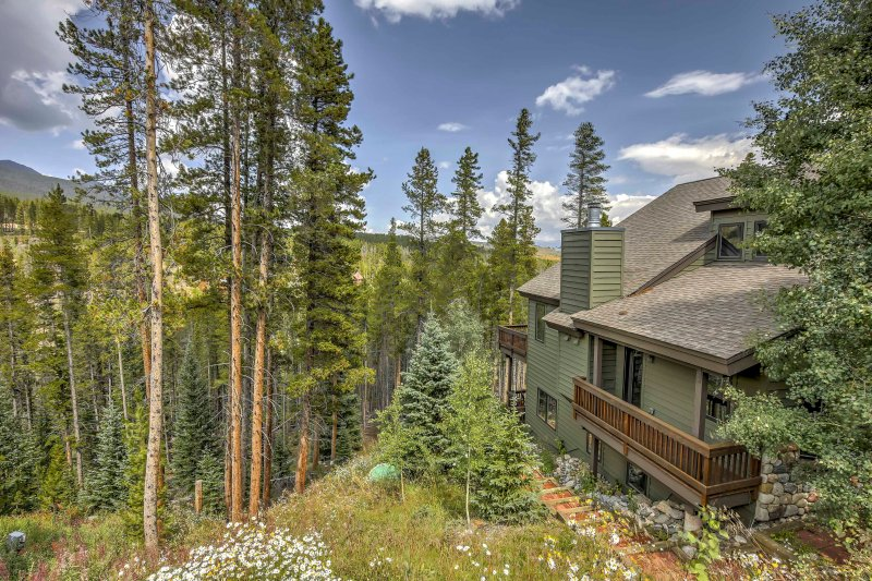 Offering stunning views and 1,200 square feet of living space, this unit ensures a memorable mountain getaway for 5 guests!