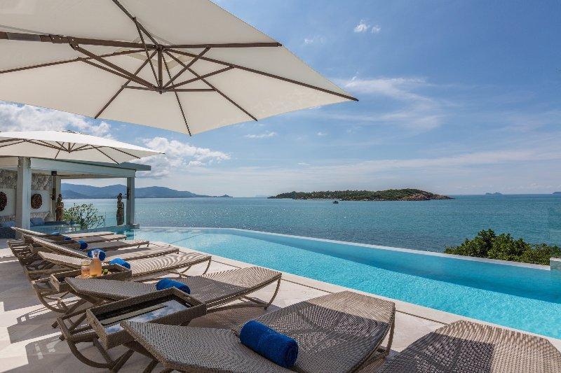 Yo Villa - Barefoot Waterfront Luxury, alquiler vacacional en Plai Laem