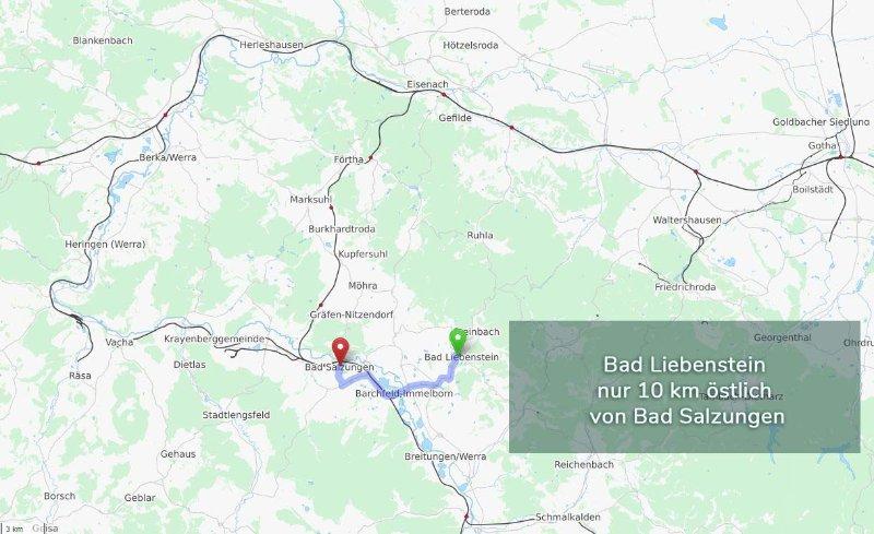 Bad Salzungen vaut bien le voyage. Et il devrait temps la pluie, visiter le monde de la saumure!