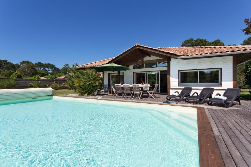 La Prade, Moliets, 2 bedroom villa with private pool, location de vacances à Moliets et Maâ