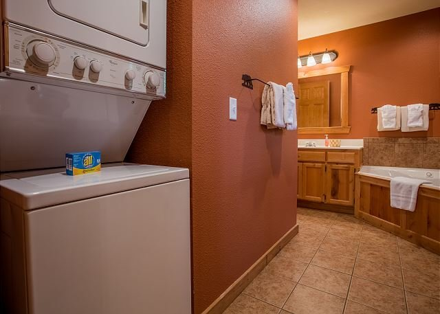 Washer and Dryer in Property!