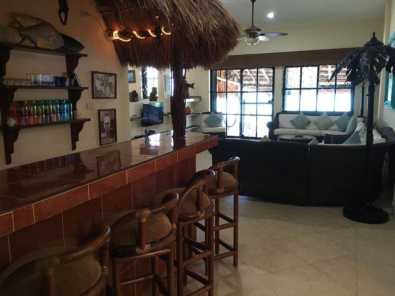 Panza arriba a la barra de perro malo y hacer que todos sus bebidas tropicales favoritas !!