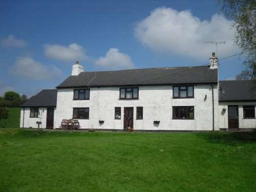 The Maeswalter Farmhouse located in the Brecon Beacons Countryside