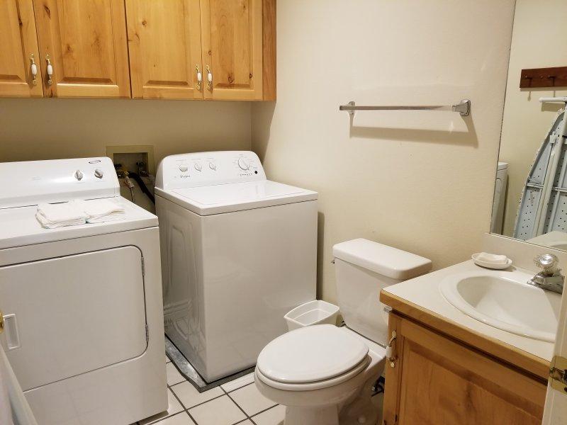 half bath and wash room