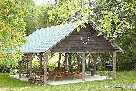 Resort Schuilplaats van de picknick bij Waters Edge Lodge