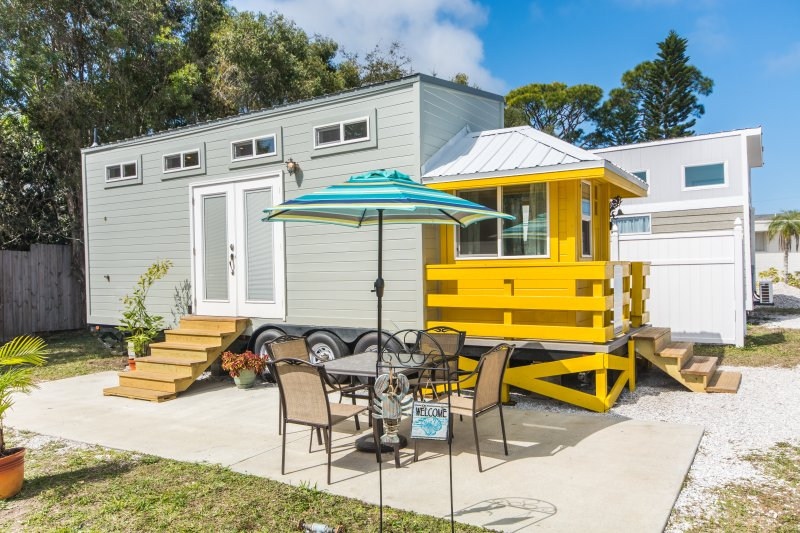 tiny house siesta yellow lifeguard stand tiny house updated 2019 rh tripadvisor com