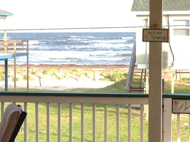 What a View!  Only steps away from the beach and fun in the sun!