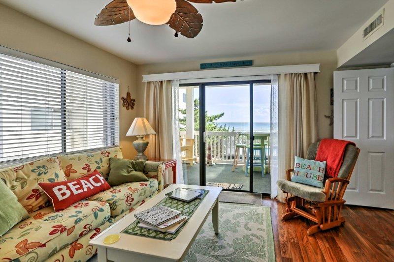 Bis zu 7 Gäste können in der nautischen Wohnung befindet sich direkt am Strand erholen und entspannen!