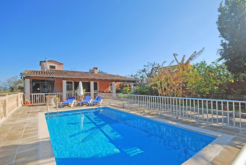 TRAMUNTANA - Country house with swimming pool in Inca, holiday rental in Inca