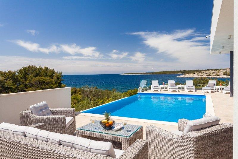 Moderna villa de lujo frente al mar en alquiler, Korcula