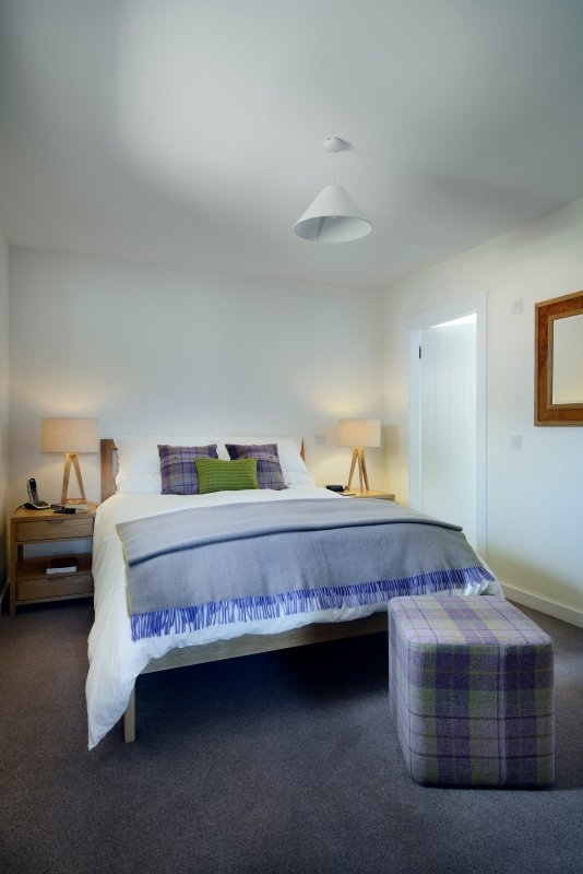 Downstairs king size bedroom with ensuite