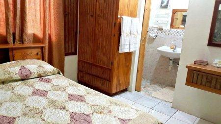 Dormitorio del apartamento de dos dormitorios