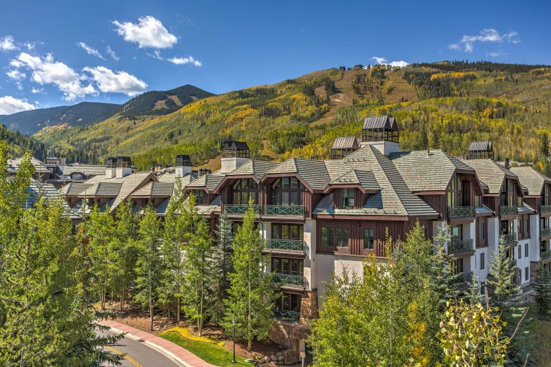 The mountains aren't far when you stay in Beaver Creek.