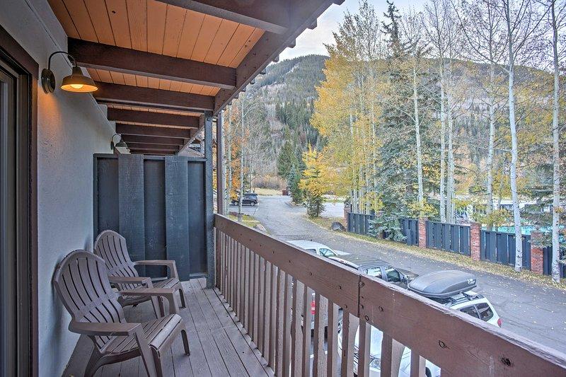 Este apartamento de 1 dormitorio y 1.5 baños es ideal para cualquier época del año.