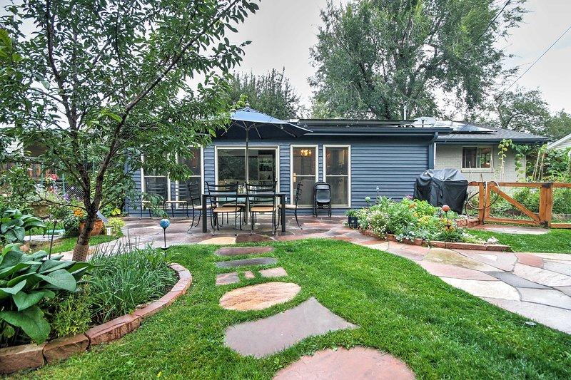 Elevare la vostra prossima fuga Boulder con questo 3 camere da letto, 2 bagni casa in affitto!