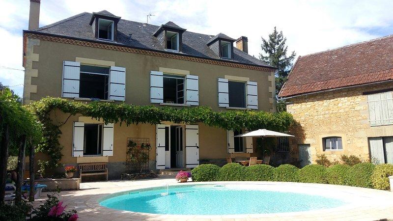 La casa e la piscina