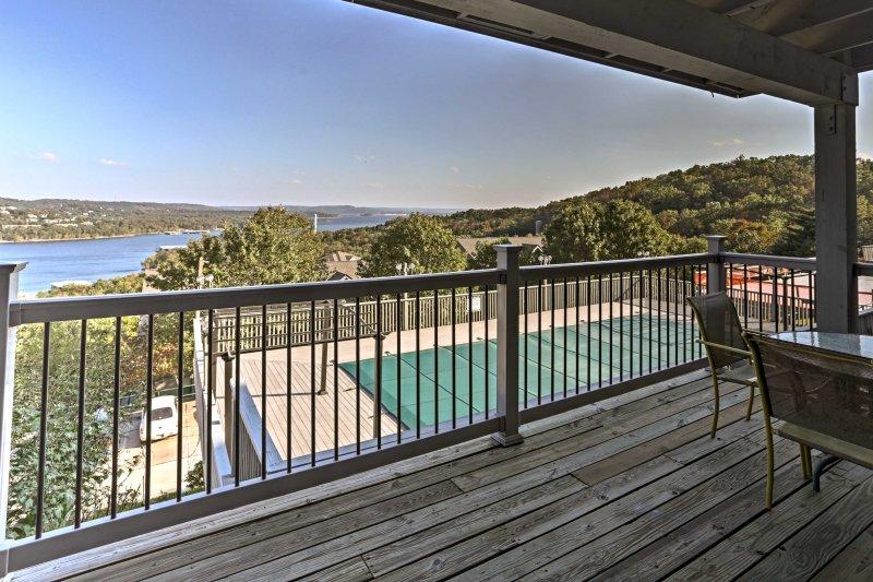 Escape to a peaceful getaway at this Branson 2-bedroom, 2-bathroom vacation rental condo!
