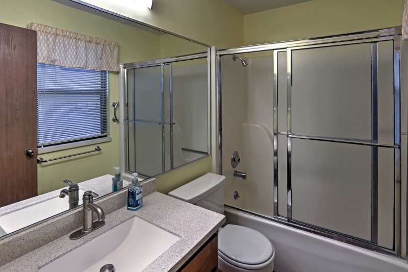 You'll love the privacy and comfort provided by the en-suite bathroom.