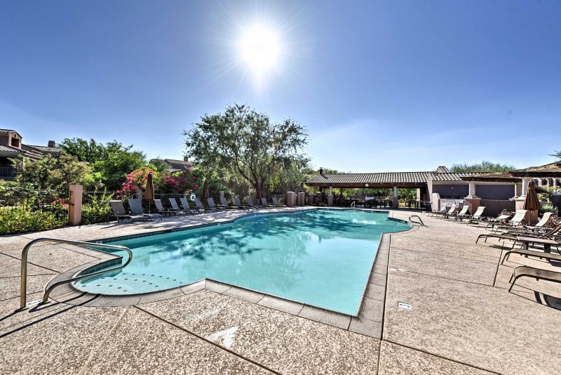 Beat the Arizona heat from this vacation rental townhome in Phoenix!