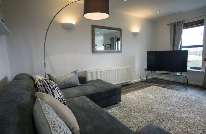 Mooie lounge area
