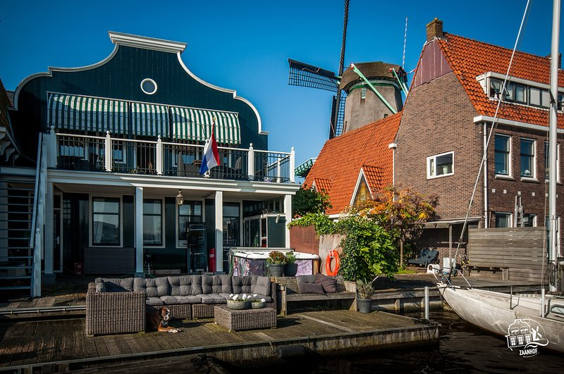 Zaanhof –Luxurious Amsterdam Zaanse Schans Loft, holiday rental in Amsterdam