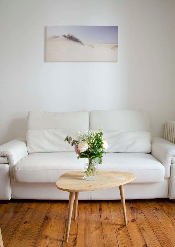 Casa Cozy Soft Les Halles Biarritz livingroom