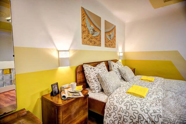 Camera da letto al piano di sopra