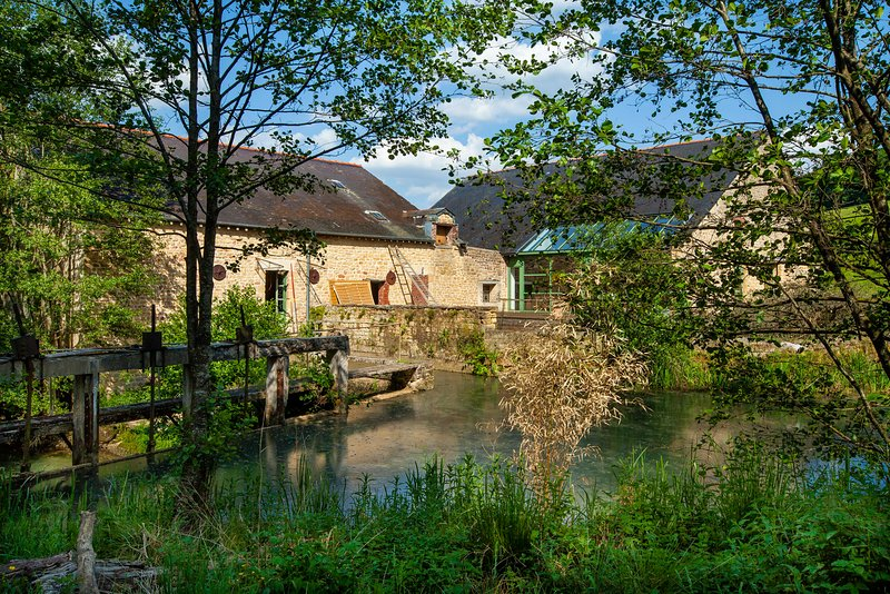 Ancien Moulin - Gîte de grande capacité en Ardennes, holiday rental in Nouart