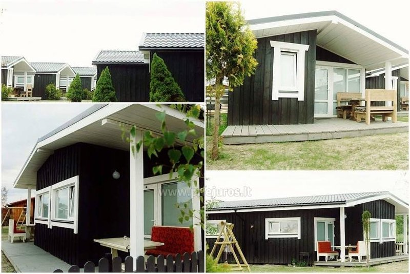 Wooden houses near the sea, holiday rental in Klaipeda County