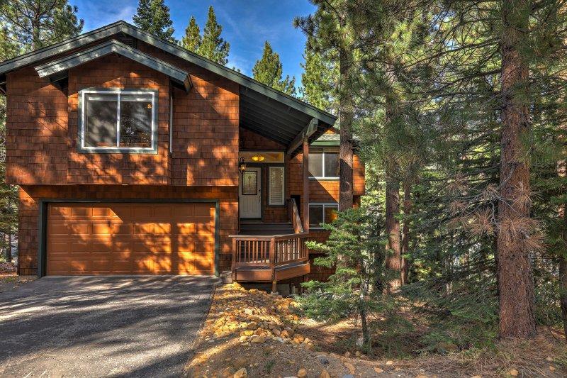 Nature's beauty awaits at this 4-bed, 2.5-bath South Lake Tahoe vacation rental.