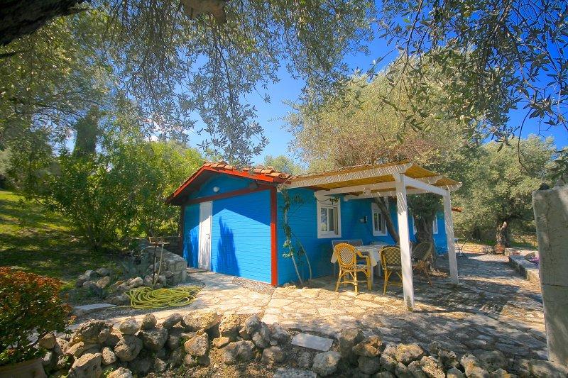 Maison isolée avec piscine privée et vue sur mer, vacation rental in Rethymnon
