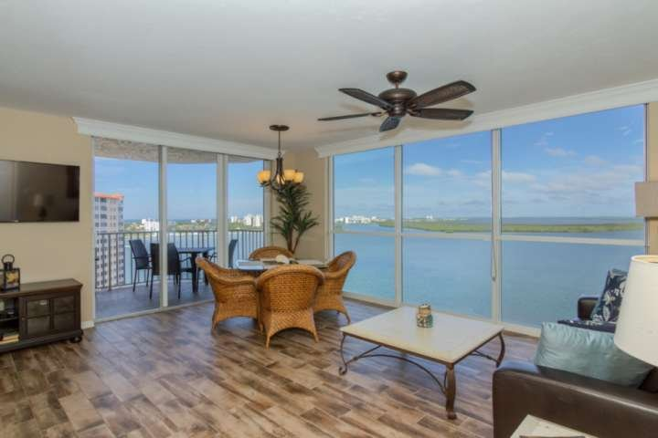 Floor to ceiling windows throughout the unit bring the best southwest Florida has to offer right into your living space!