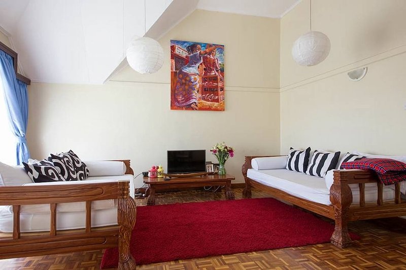 Two  bedroom apartment located in Milimani close to Nairobi, holiday rental in Mount Kenya National Park