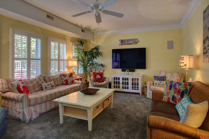 Family Room with view of flat screen tv