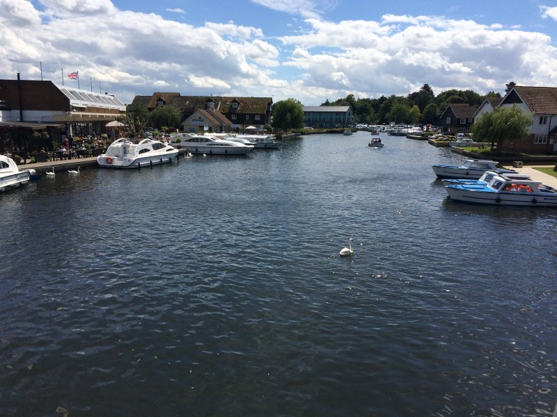 Hire a boat and explore the river and Broads, boats, kayak, canoe hire only 5 minutes walk away