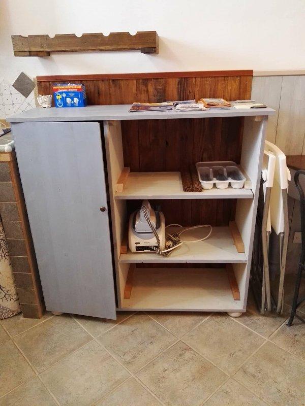 cozinha móvel com tábua incluído