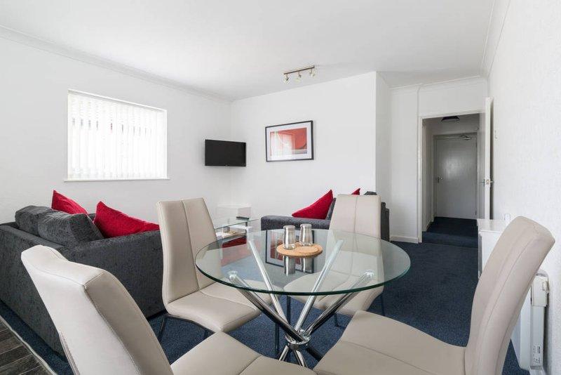 Light & Open, Pleasure Beach Apartments, alquiler de vacaciones en Blackpool