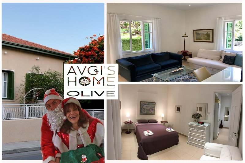 Santa kommer till Limassol Town för att besöka Avgi's Home, Olive Garden Apt
