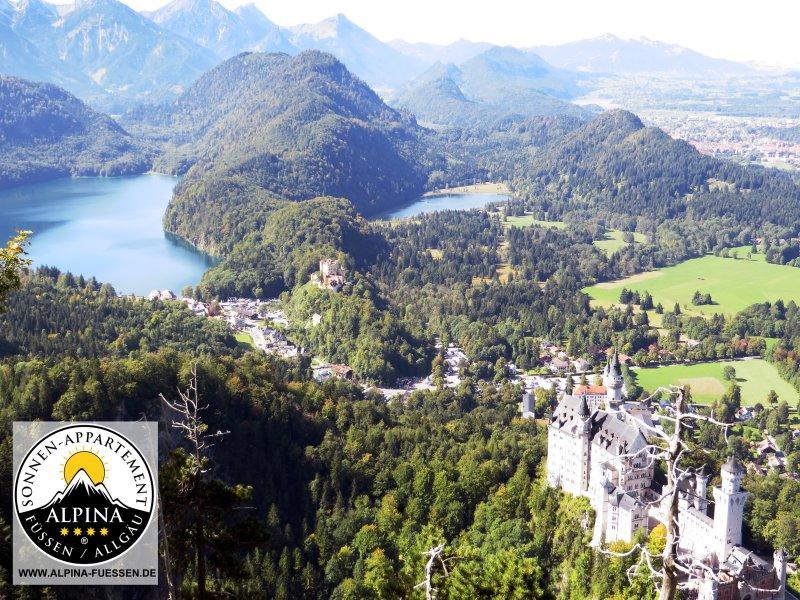 Il romantico castello di Neuschwanstein Neuschwanstein con CR da Alexander Hosp