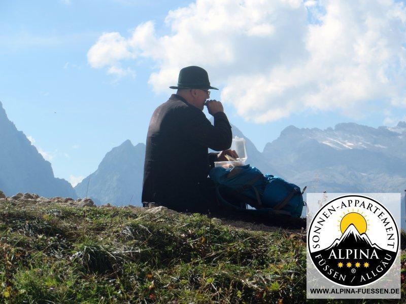 Wandergenuss in escursioni trilogia a Fussen in Algovia CR da Alexander Hosp