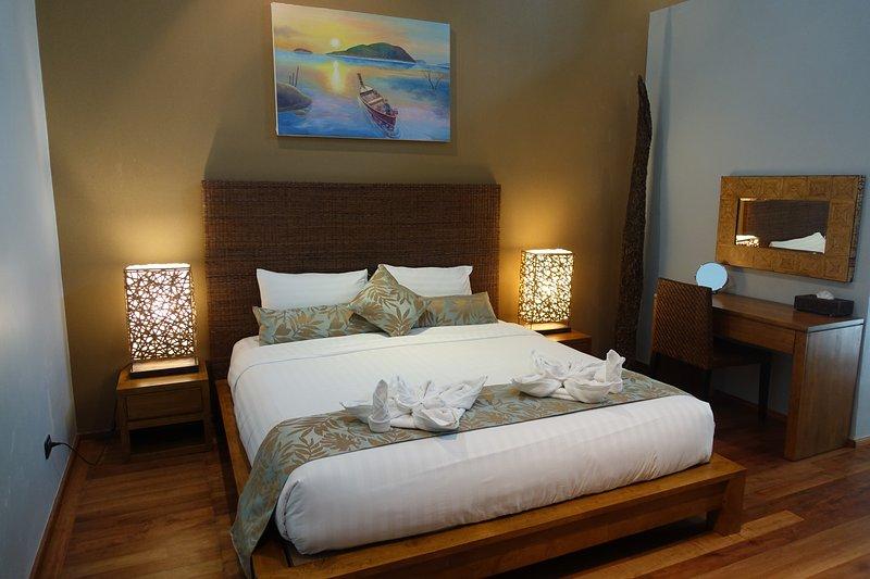 Kingsize-Bett Zweites Schlafzimmer