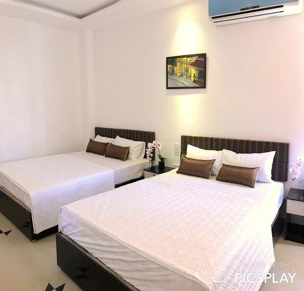 Bedroom 5 Vien Dong Hotel, casa vacanza a An Hai Tay