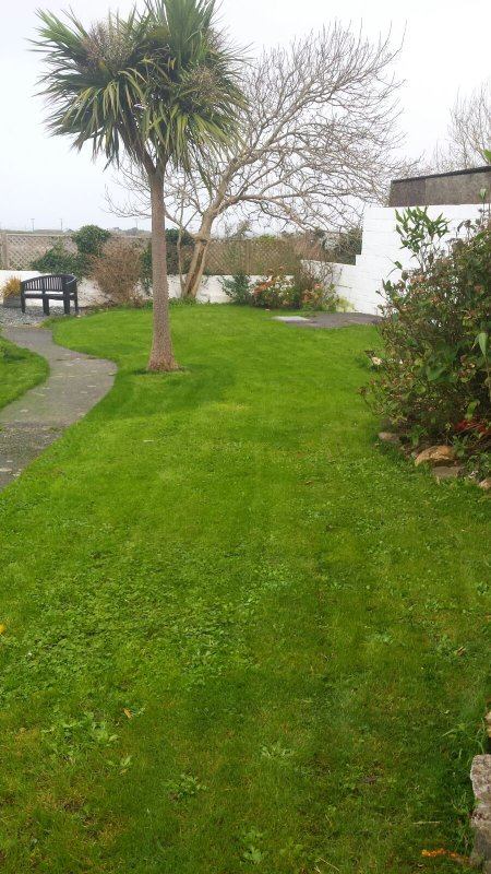 Large enclosed rear Garden