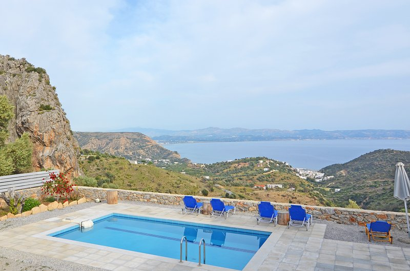 Private swimming pool with great views