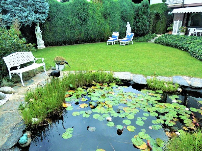 Jardin de la maison appartement vue rêve