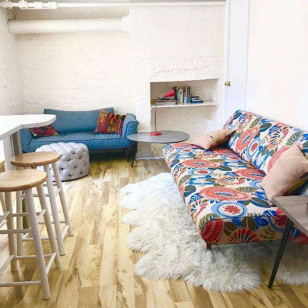 Open Living Space 2 Hideaway beds