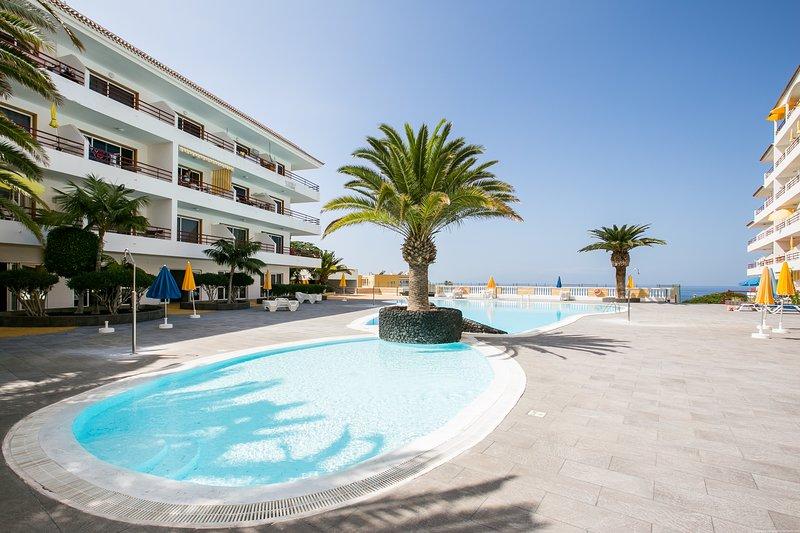 1 bed. sea view in Playa Arena, holiday rental in Puerto de Santiago