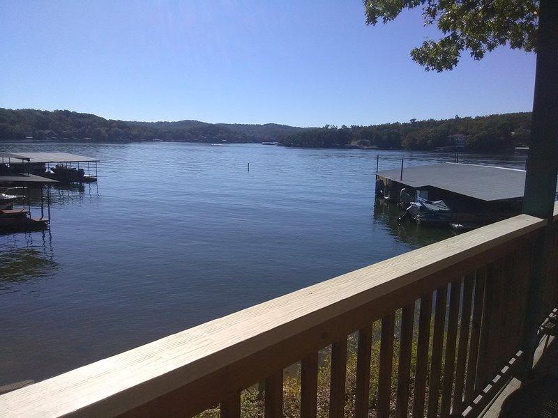 Uitzicht op het meer vanuit elke flat