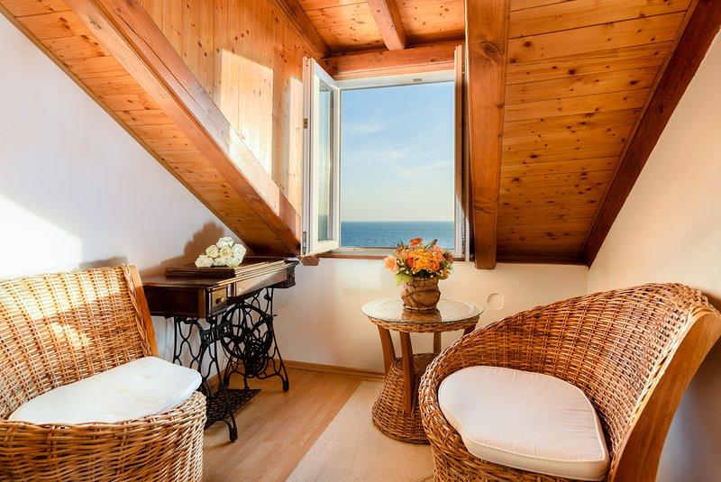 Sea-view quarto